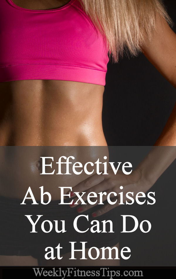 Effective Ab Exercises that You Can Do at Home