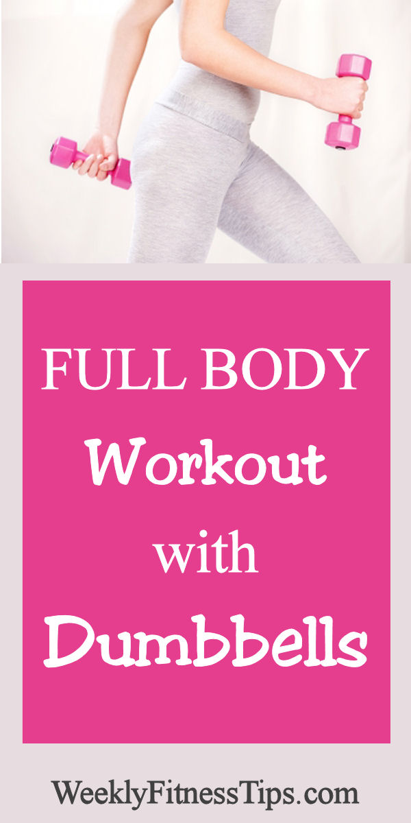 Full Body Workout with Dumbbells