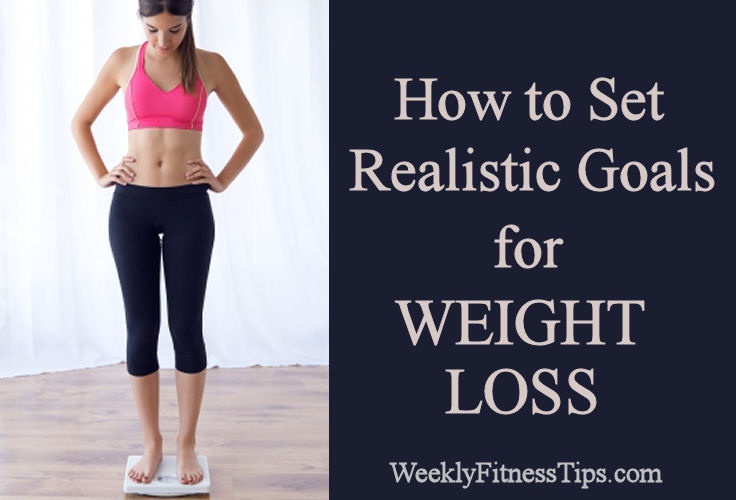 how to meet a weight loss goal