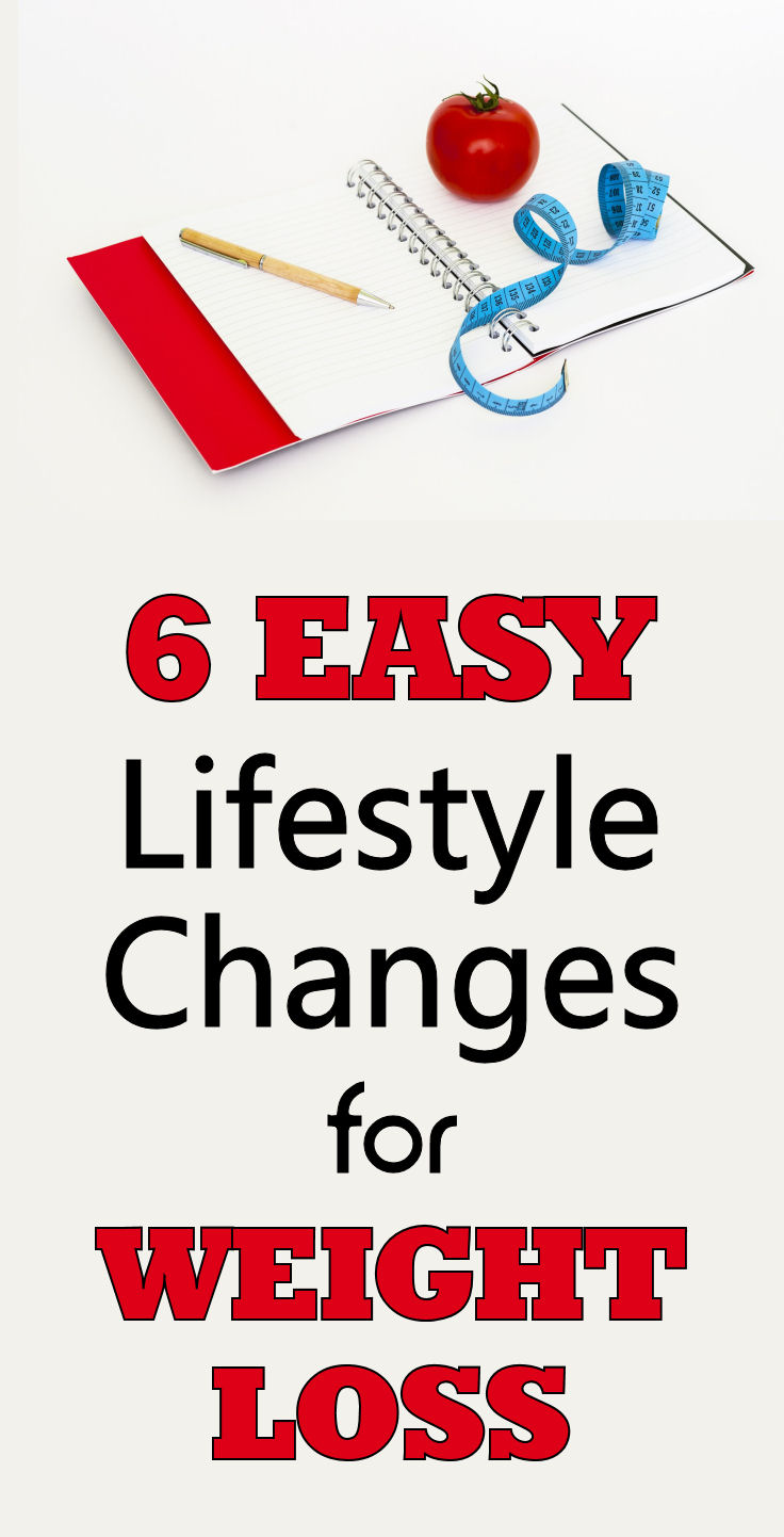 6 easy Lifestyle Changes for Weight Loss