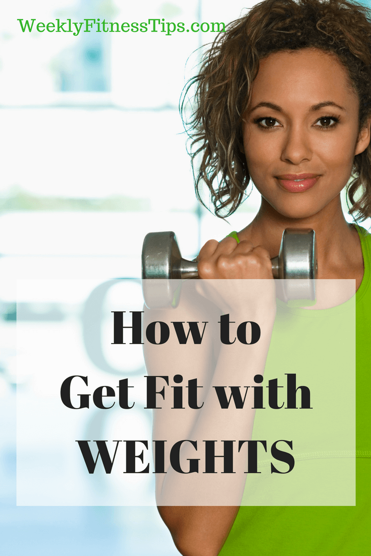 How to Get Fit with Weights