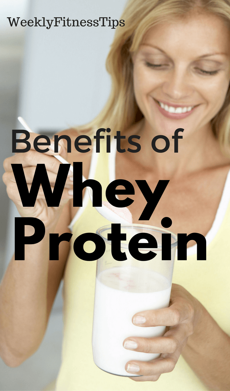WHEY Benefits