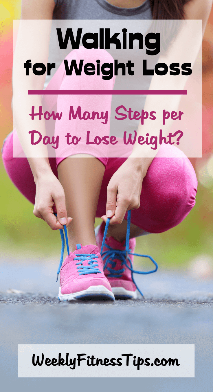 Does walking help you lose weight and how many steps per day should you take?